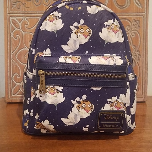 cbdab30c065 Loungefly x Disney Aladdin Raja mini backpack